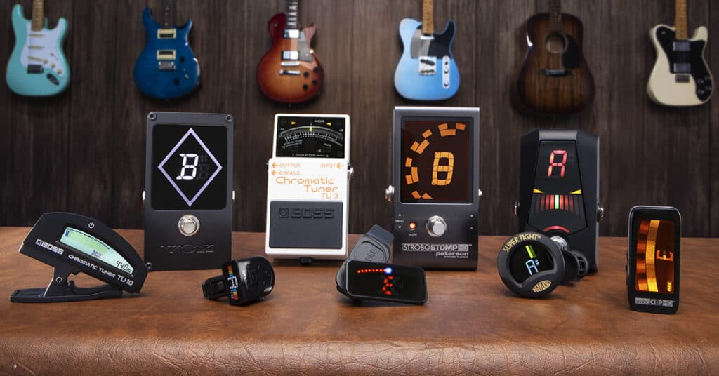 The 5 Best Electric Guitar Tuners: The #1 Picks For 2020!