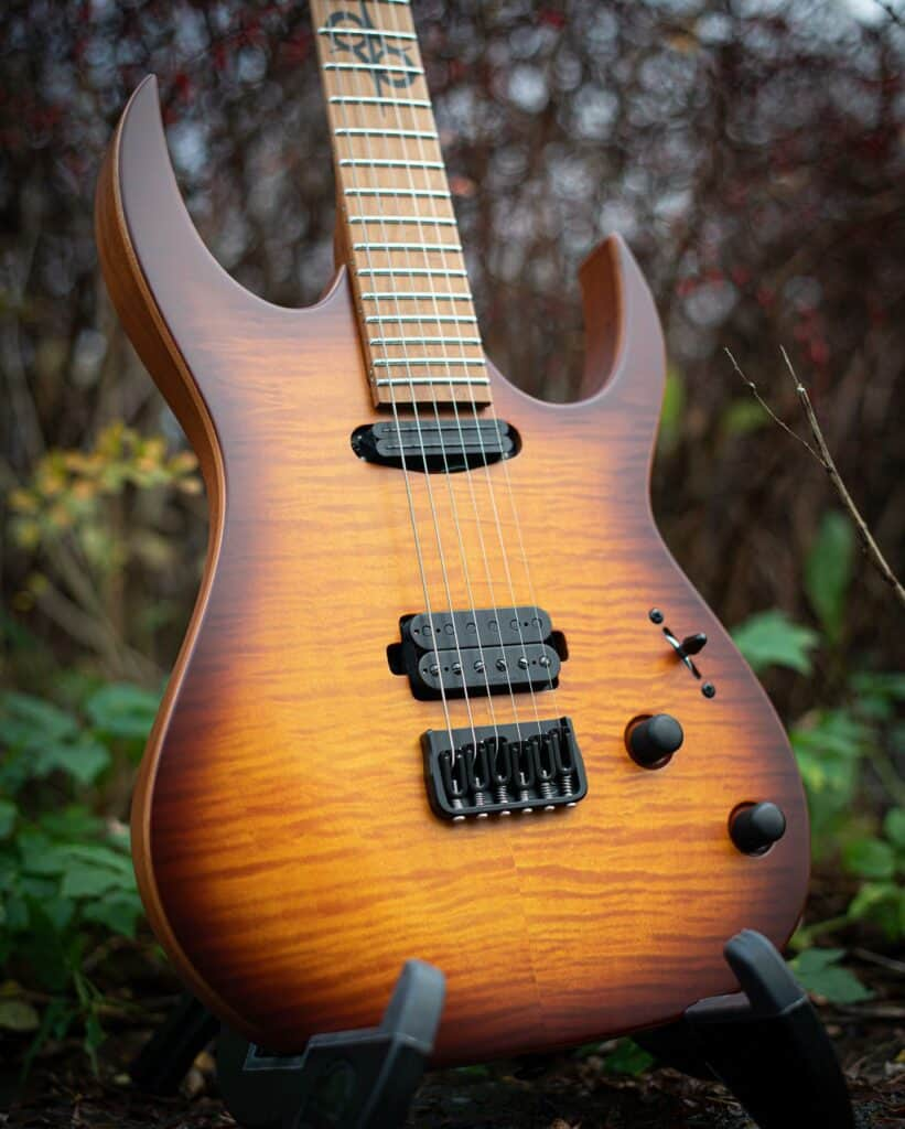 New Solar Guitars: Check Out These Bolt-On Beauties!