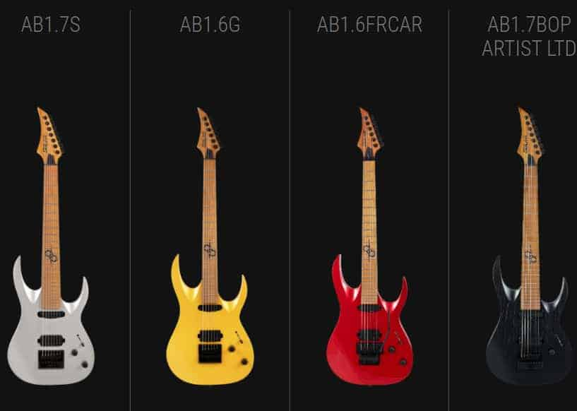 New Solar Guitars