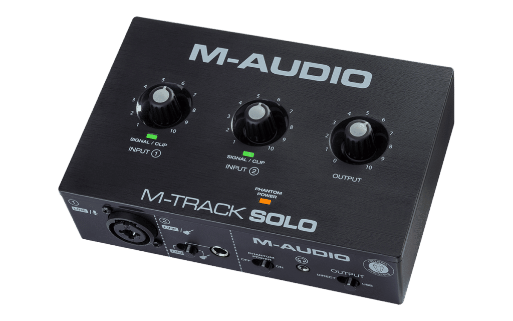M-Audio Releases The M-Track Solo and Duo: Affordable Guitar Interface for 2020!