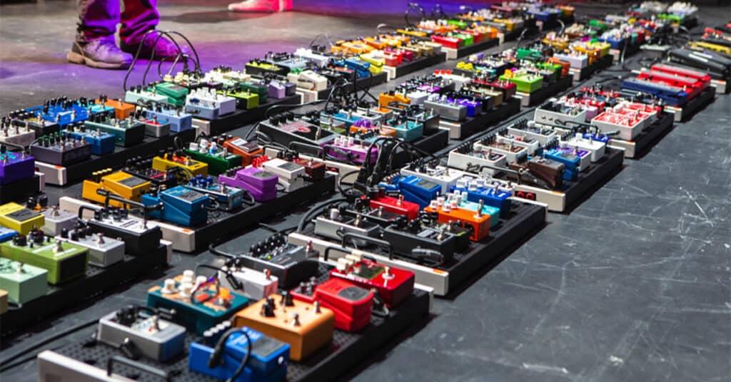 weirdest guitar pedals