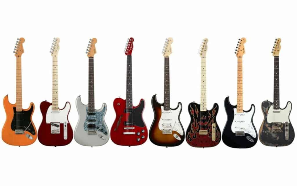fender guitars for metal
