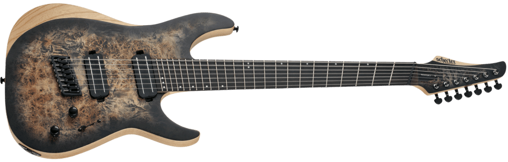 extended range guitars