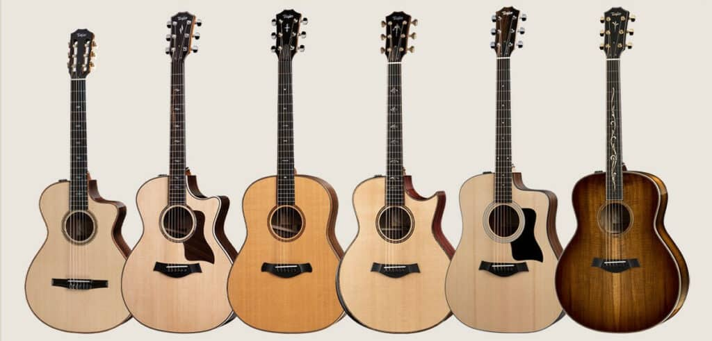 types of guitars