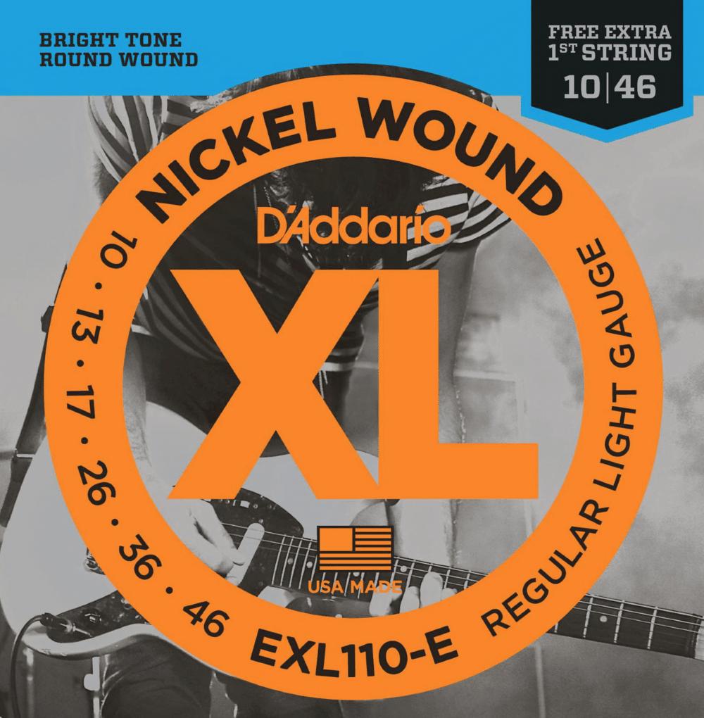 D'Addario EXL110-E