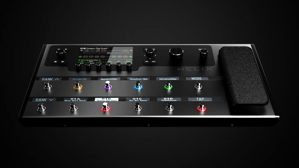 is line 6 helix easy to use